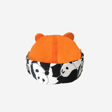Orange Cub Adults Baseball Cap