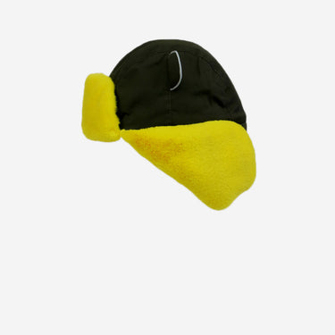 khaki yellow arctic cub kids hat