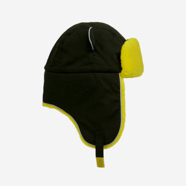 khaki yellow winter hat for kids from Little Hotdog Watson