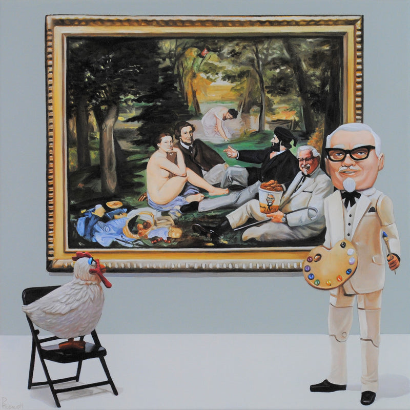 Pat Hobaugh - Kentucky Fried Manet