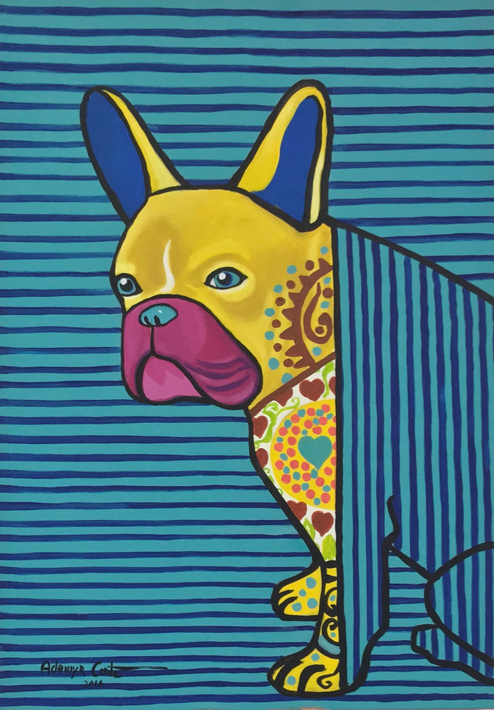 Ademyr Costa - Yellow Dog Blue Stripes