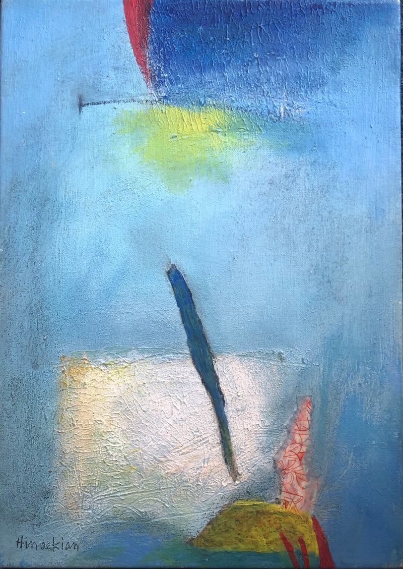 Peggy Hinaekian - Dreaming in Blue II