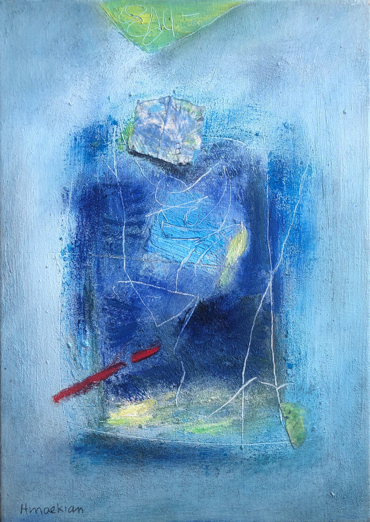 Peggy Hinaekian - Dreaming in Blue I