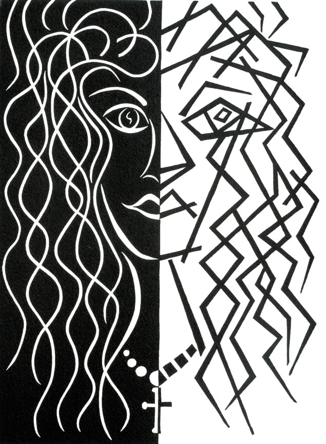 Pierre H Matisse - Two Faces of the Same Coin