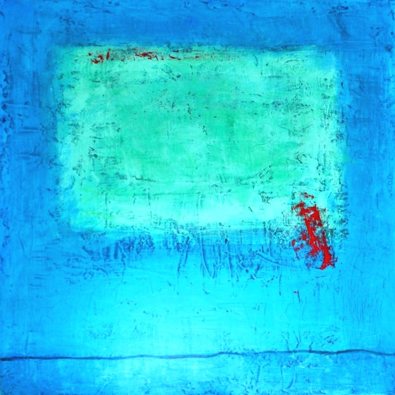 Peggy Hinaekian - Green Cloud in Blue Sky