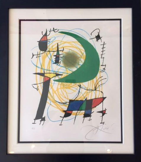 Joan Miró - Signed Lithograph