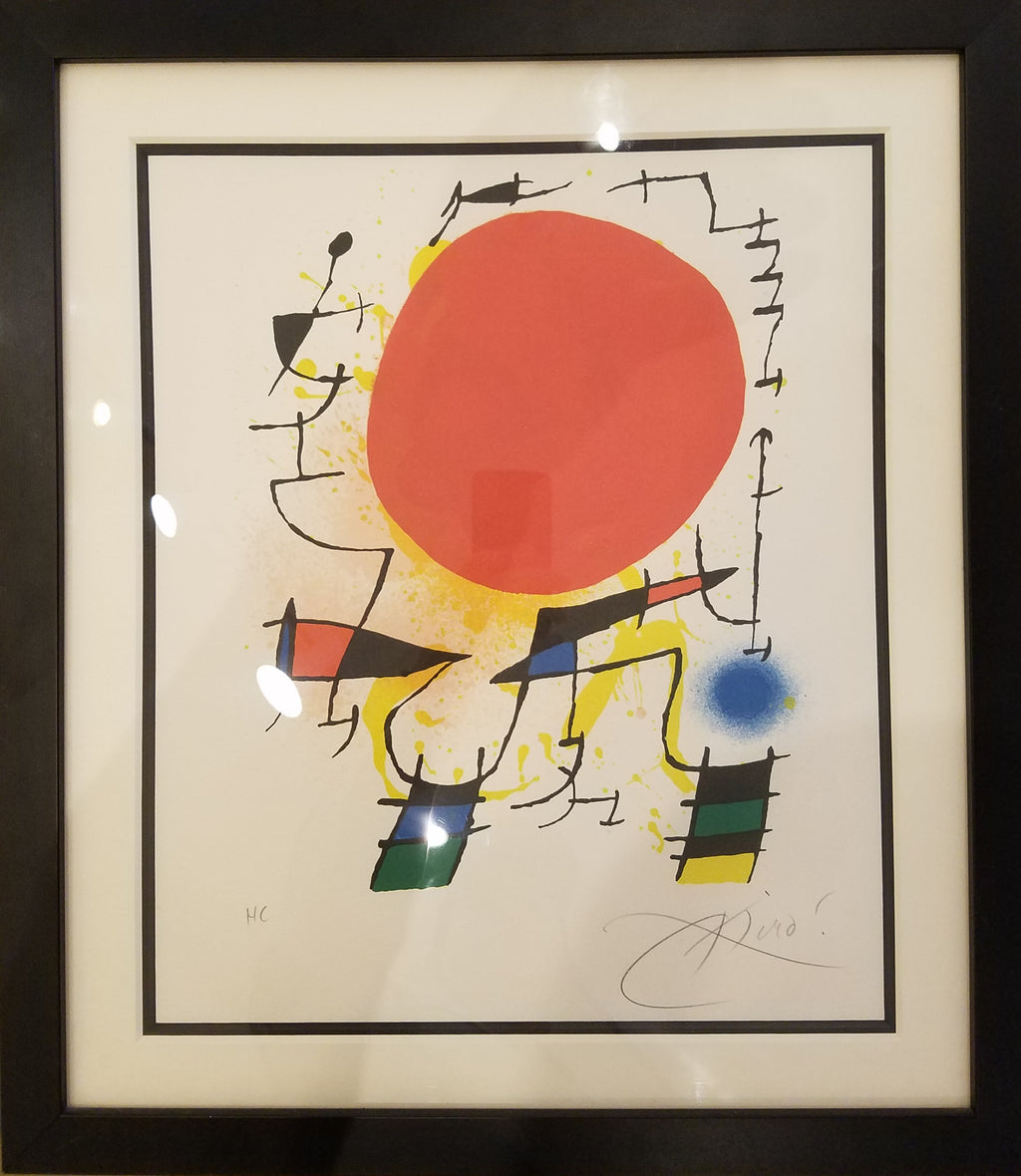 Joan Miró - Red Sun