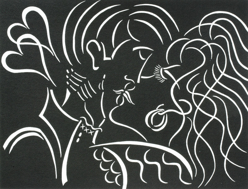 Pierre H Matisse - The Kiss
