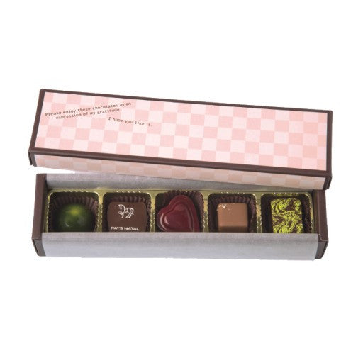 5 Cavity Chocolate & Truffle Box Set (RS)