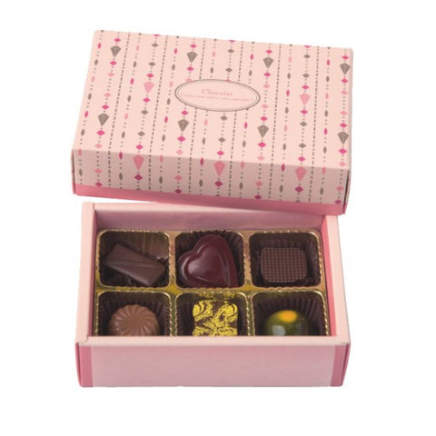 6 Cavity Chocolate & Truffle Box Set (RS)