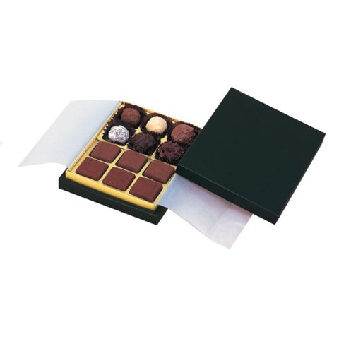 12 Cavity Ganache Chocolate Box Set (NCG)