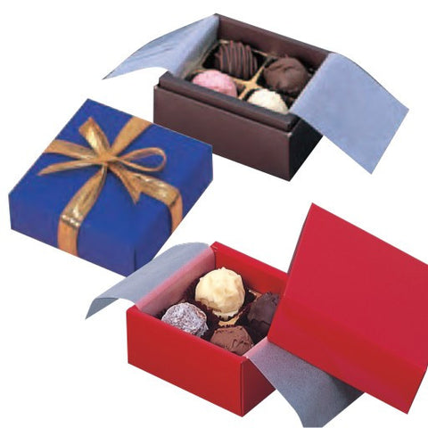 4 Cavity Truffle & Chocolate Box Set (RS)
