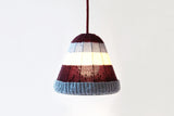 Lana Beanie Pendant Light, Handcrafted Lighting, Knitted Merino Wool Lamp, Luna Lana, Home, Cafe, Restaurant