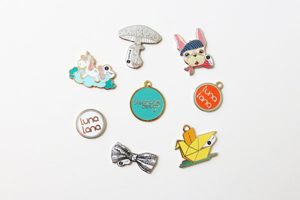 Pins and Charms, Accessories, Luna Lana, Stephanie Ng Design