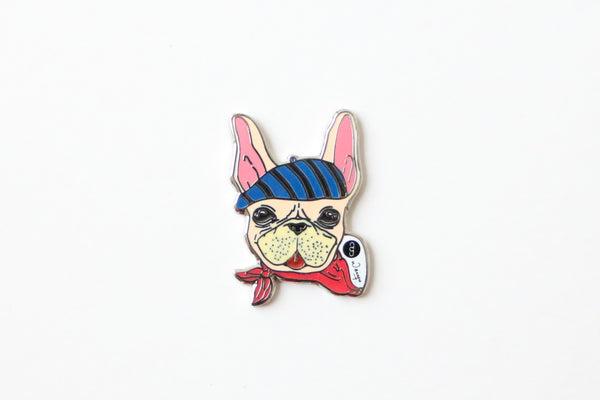 Frenchie, Pins and Charms, Accessories, Luna Lana, Stephanie Ng Design