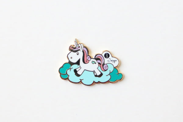 Unicorn, Pins and Charms, Accessories, Luna Lana, Stephanie Ng Design