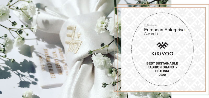 Winner! Best Sustainable Fashion Brand - Estonia