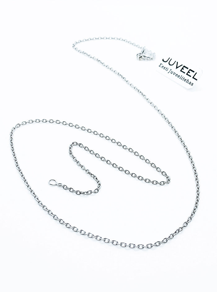 Silver chain necklace by JUVEEL (50)