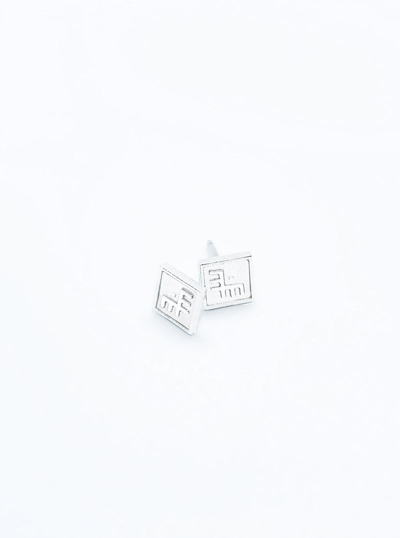 3D Printed Silver Earrings PERSONALISE ME *P