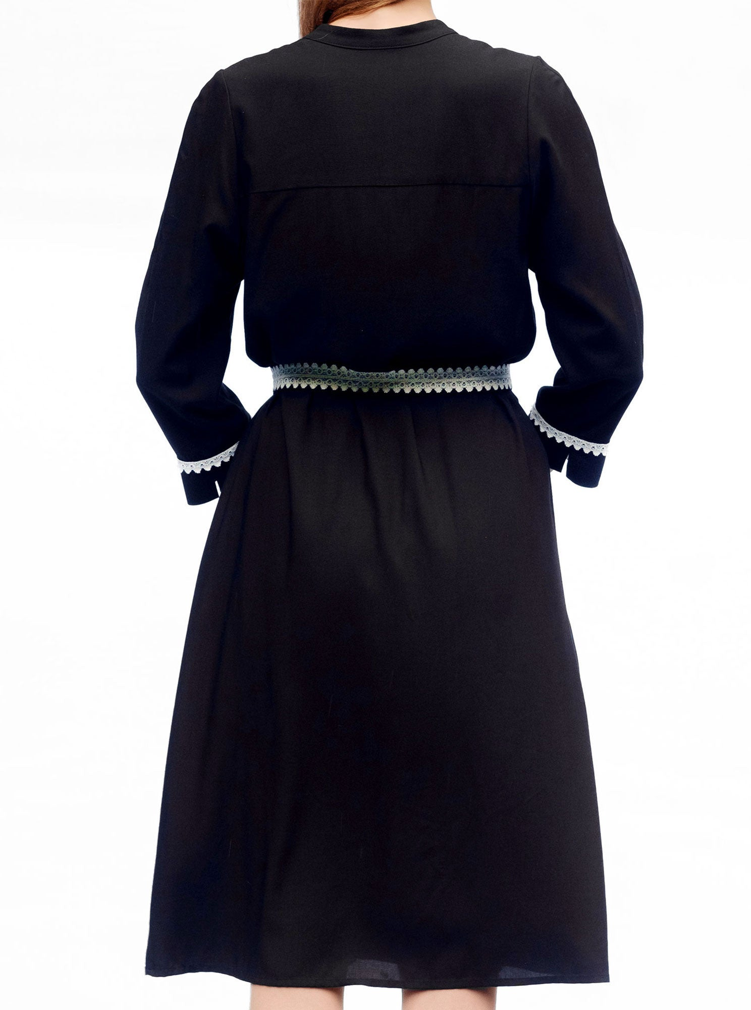 SORGO Bamboo Black Dress