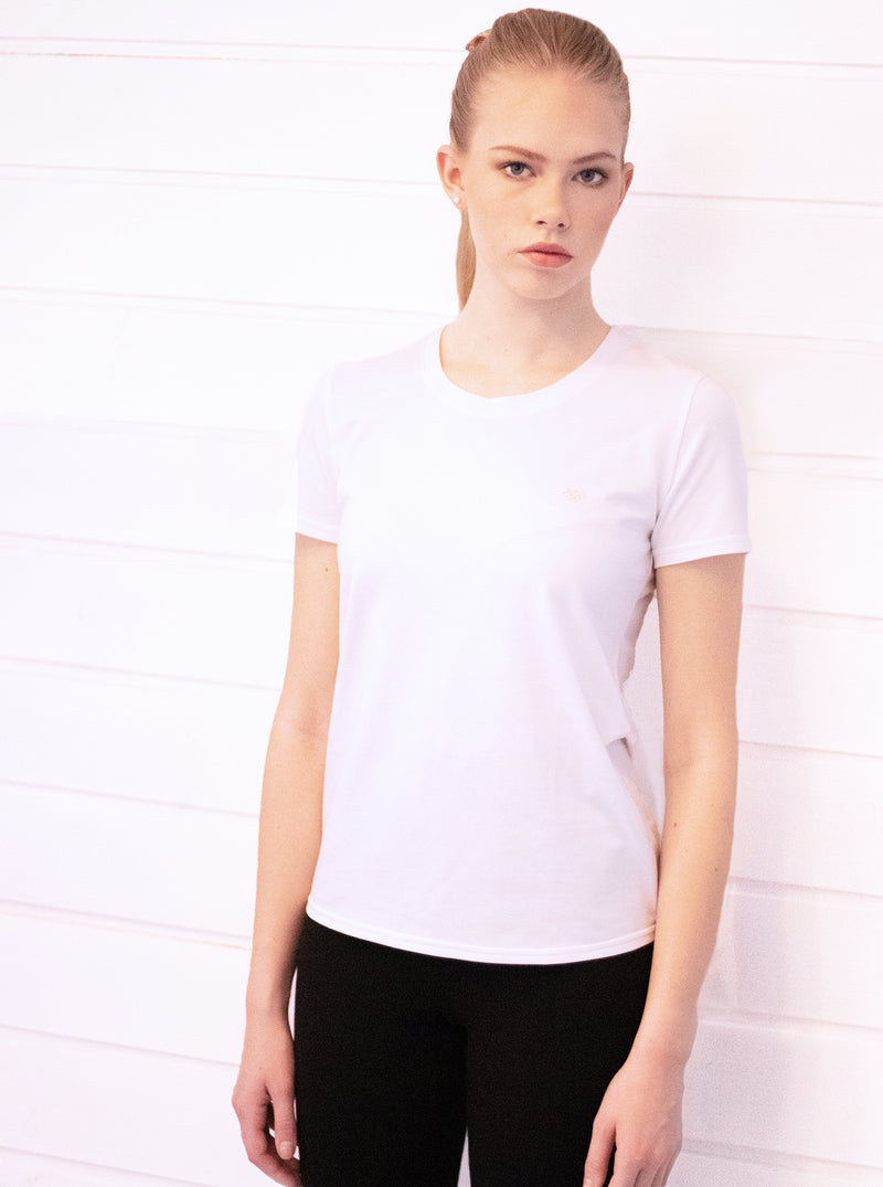 White Organic Blend T-shirt BASIC