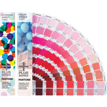 Load image into Gallery viewer, Pantone Bridge to Seven Guide Extended Gamut Set 2015-005S fan guide open product image