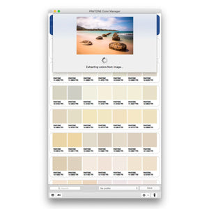 Pantone Color Manager Software (PS-CM100) product image screen shot