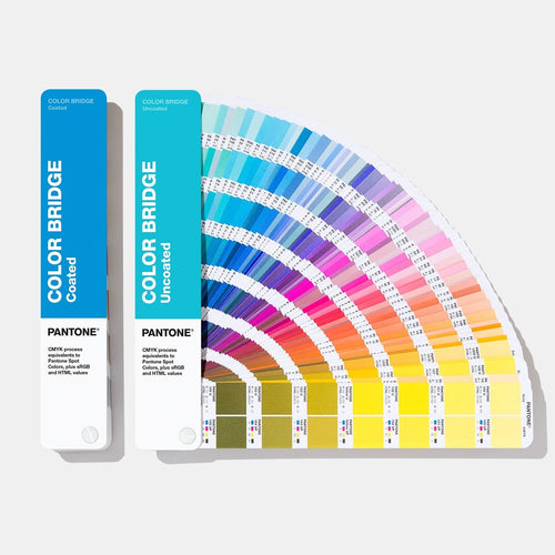 Pantone Colour Bridge Guide Set Coated Uncoated GP6102A main product image