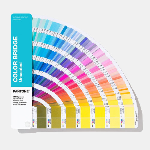 Pantone Colour Bridge Guide Uncoated GG6104A product image fanned