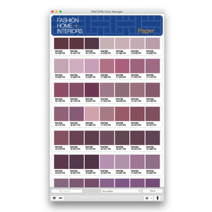 Pantone Colour Manager Software (PS-CM100) product image FHI screen shot