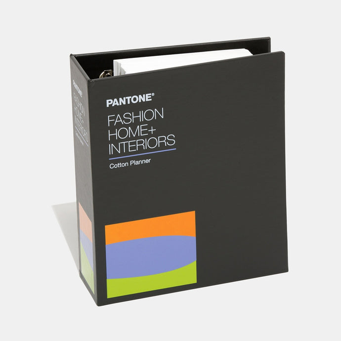 Pantone Cotton Planner FHIC300A product image closed binder
