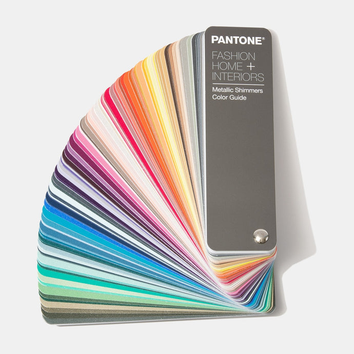 Pantone Fashion Home Interiors Metallic Shimmers Colour Guide FHIP310N product image open fan