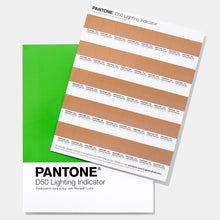 Load image into Gallery viewer, Pantone Lighting Indicator Stickers D50 (LNDS-1PK-D50) product imags