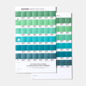 Pantone Metallic Chips Book GB1507A product page image