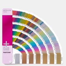 Load image into Gallery viewer, Pantone Metallics Guide Coated GG1507 open fan guide main product image