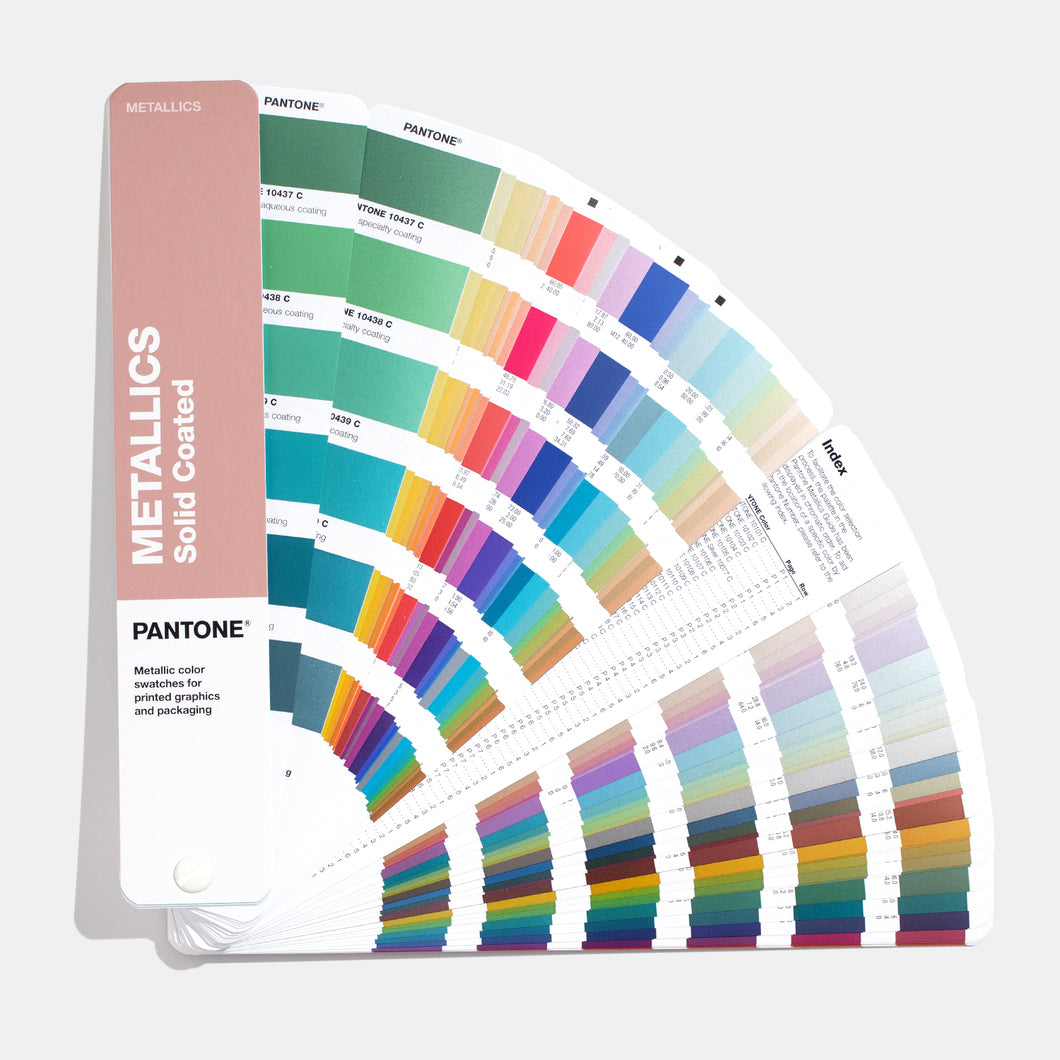 Pantone Metallics Colour Chart Guide main product image (GG1507A)