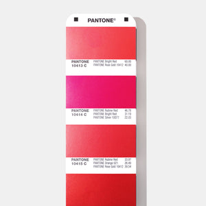 Pantone Metallics Colour chart guide product detail image (GG1507A) red metallic chips page