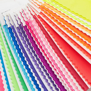 Pantone Nylon Brights Set FFN100 close up product image textile on ring