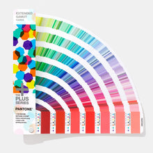 Load image into Gallery viewer, Pantone Plus Extended Gamut Guide GG7000 product image open fan