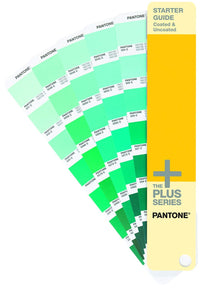 Pantone Plus Starter Guide Solid Coated Uncoated GG1511 fan guide greens product image
