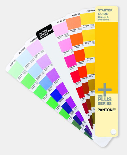 Pantone Plus Starter Guide Coated & Uncoated (GG1511) @ £43.00 ex vat