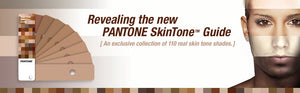 Pantone Skintone Guide Collection (STG201) of 110 real skin tones banner image