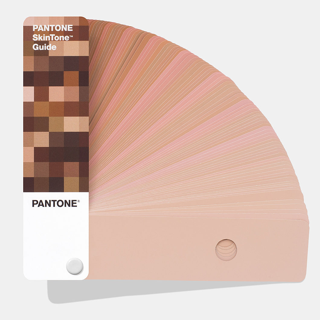 Pantone Skintone Guide Product image colour guide fanned open, part munber STG201