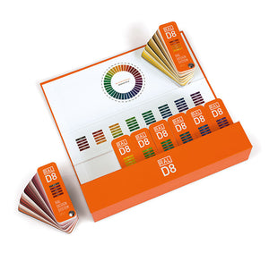 RAL Design Plus D8 Colour Charts Set (RAL8PLUS) open box and fan product image