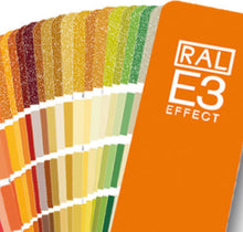 Load image into Gallery viewer, RAL Effect E3 Colour Chart fan (RALE3) close up image