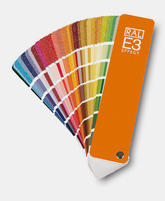 RAL Effect E3 Solids & Metallics Colour Chart Fan (RALE3) @ £37.00 ex vat