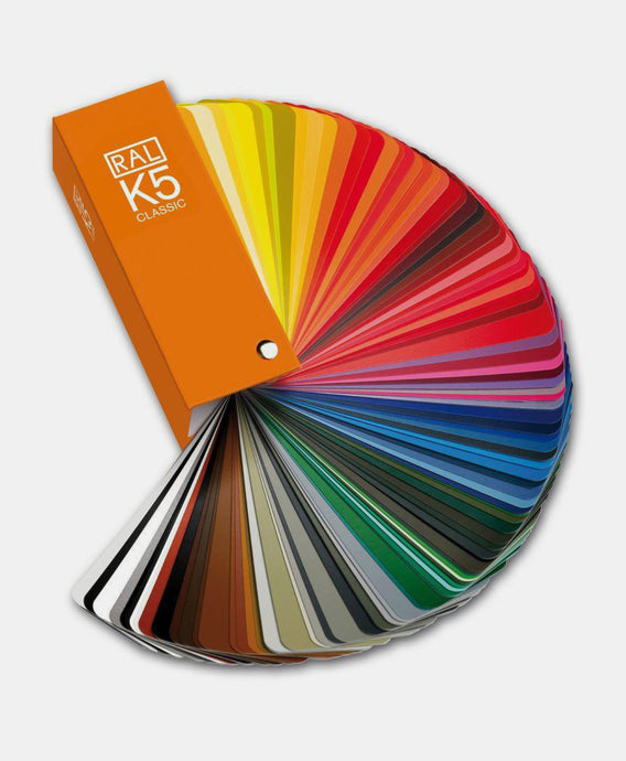 RAL Classic K5 Gloss OR Semi Matt Colour Chart Fan (RALK5) @ £29.99 ex vat