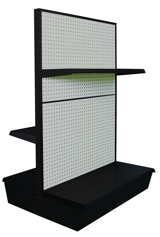Double-Sided Gondola Shelving - 36""