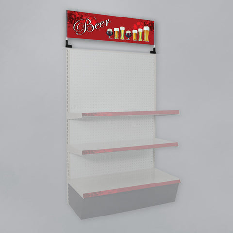 Graphics for Retail Merchandising Displays - Header Signs