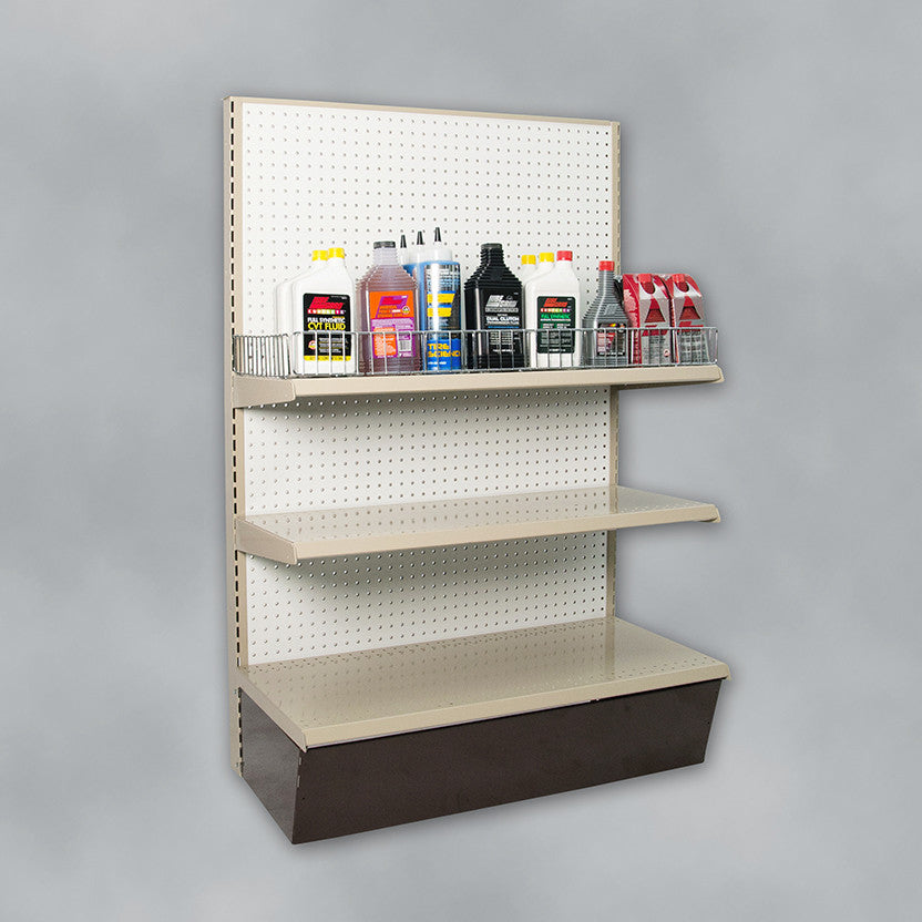 Shelf Guards for Gondola Displays